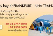 Mở bán chuyến bay charter từ Đức về Việt Nam ngày 28/07