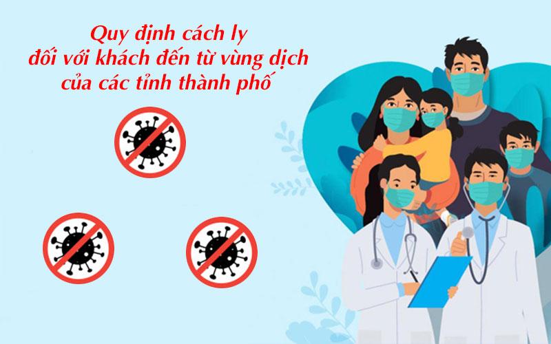 Quy định kiểm soát dịch bệnh tại các địa phương trong nước