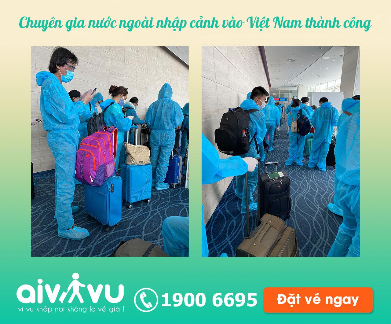 Chuyến bay từ nước ngoài về Việt Nam?
