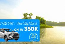 Dịch vụ taxi đi Sơn Tây Ba - Vì chỉ từ 350.000 VND