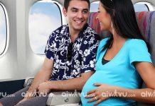 Quy định đi máy bay cho bà bầu Japan Airlines