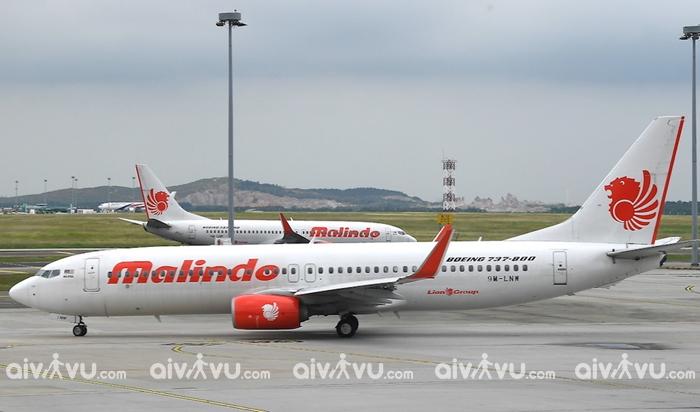 Thông tin hạng ghế trên chuyến bay Malindo Air