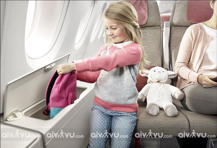 Giá vé trẻ em đi máy bay Air Asia