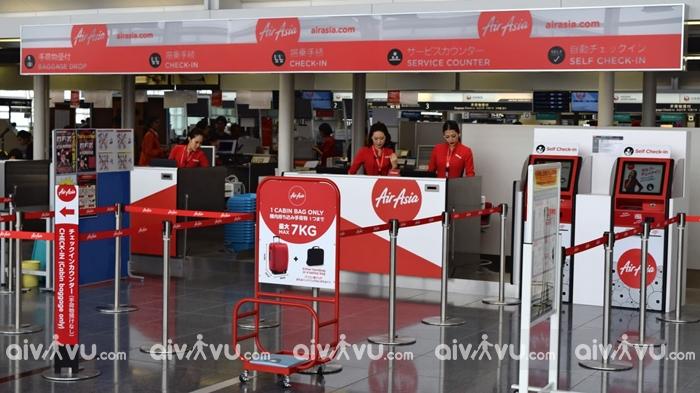 Hướng dẫn làm thủ tục lên máy bay Air Asia nhanh chóng