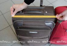 Kích thước hành lý Japan Airlines khi đi máy bay