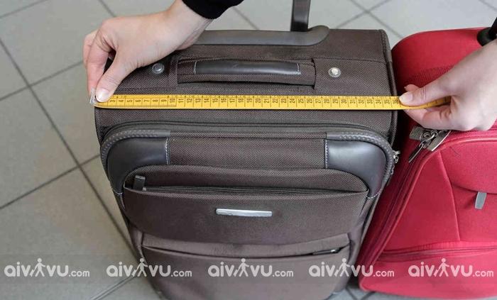 Kích thước hành lý khi đi máy bay Malindo Air