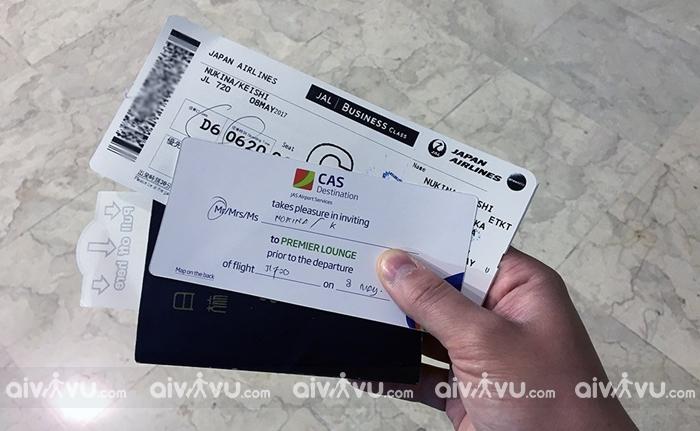 Kiểm tra code vé máy bay Japan Airlines
