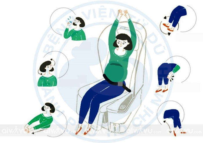 Kinh nghiệm đi máy bay cho bà bầu trên chuyến bay Malindo Air