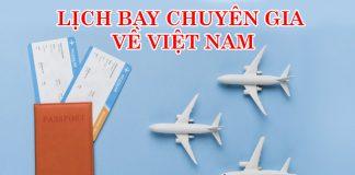Lịch bay quốc tế về Việt Nam tháng 8, 9, 10