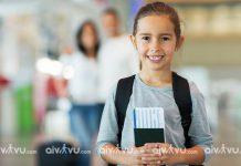 Trẻ em đi máy bay Japan Airlines cần giấy tờ gì?