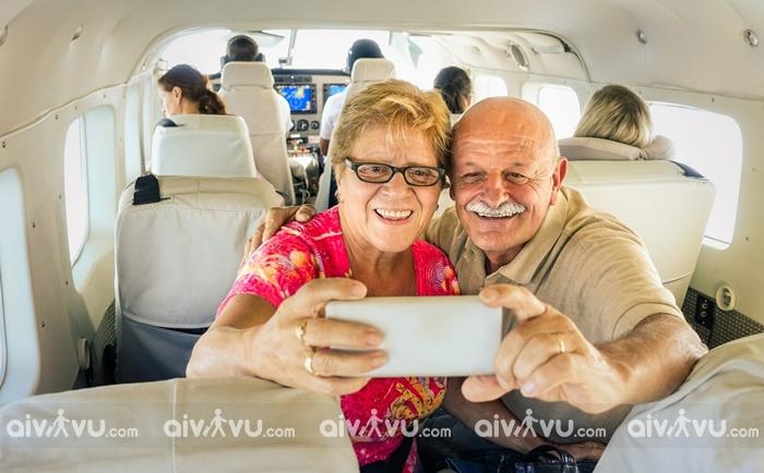 Trường hợp người cao tuổi không nên đi máy bay