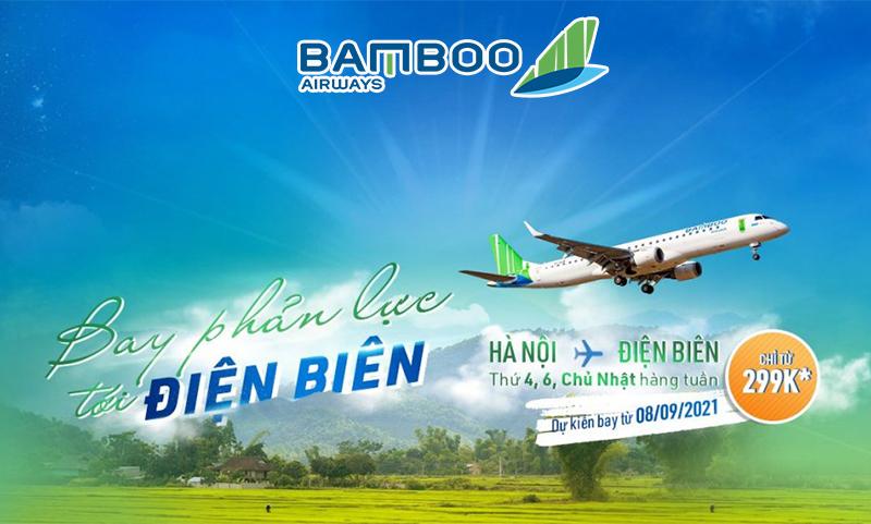 Bamboo Airways khuyến mãi đường bay mới Hà Nội – Điên Biên chỉ 299.000 VND