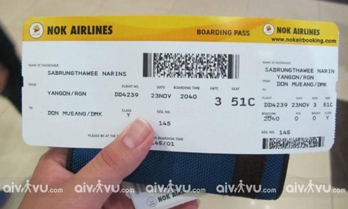 Phí hoàn đổi đổi vé máy bay Nok Air