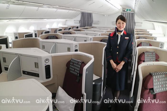 Tìm hiểu hạng ghế Japan Airlines trên chuyến bay