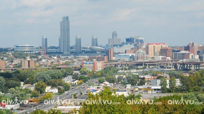 Albany thủ phủ của bang New York
