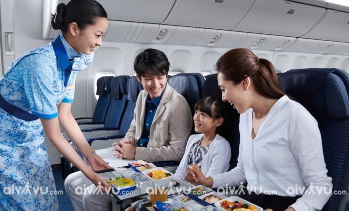 All Nippon Airways hãng hàng không đi Mỹ tốt nhất