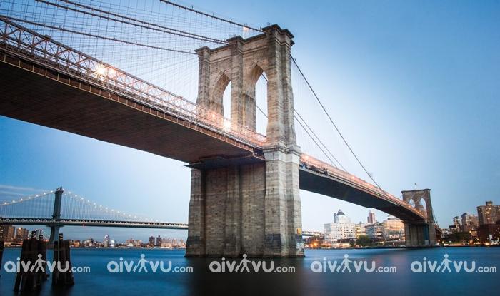 Cầu Brooklyn kỳ quan nhân tạo của Mỹ tại New York