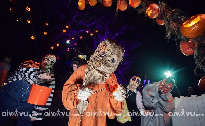 Halloween Horror Nights của Universal Studios điểm đến vô cùng rùng rợn
