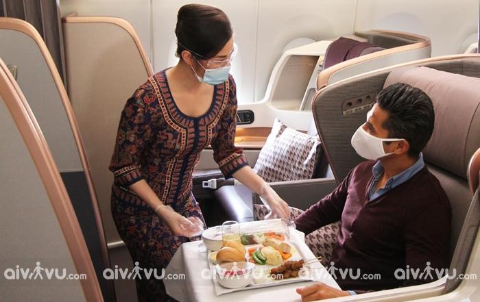 Singapore Airlines hãng hàng không đi Pháp được yêu thích