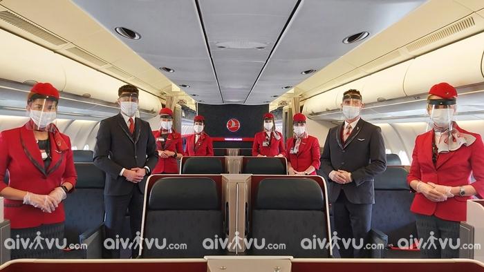 Hãng hàng không đi Anh Turkish Airlines