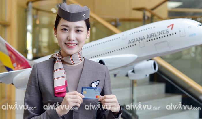 Hãng hàng không đi Hàn Quốc Asiana Airlines