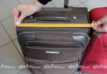 Kích thước hành lý khi đi máy bay Nok Air