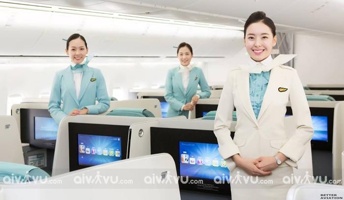 Korean Air hãng hàng không đi Hàn Quốc tốt nhất