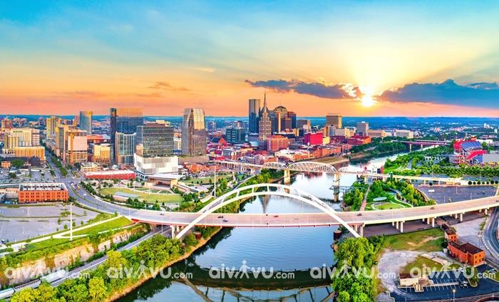 Nashville thành phố âm nhạc đồng quê đặc trưng của Mỹ