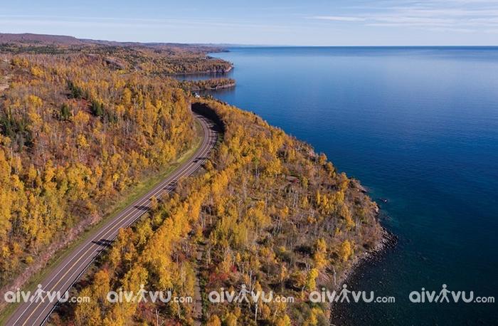 Khám phá mùa thu nước Mỹ tại đường North Shore, Minnesota