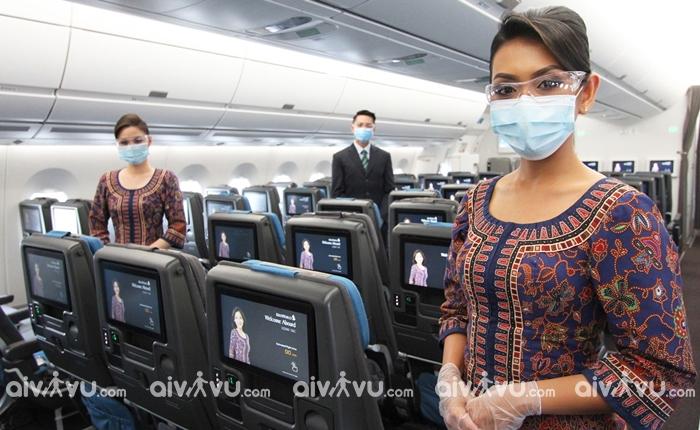 Singapore Airlines hãng hàng không đi Nga giá tốt