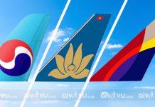 Top 3 hãng hàng không bay đi Hàn Quốc tốt nhất