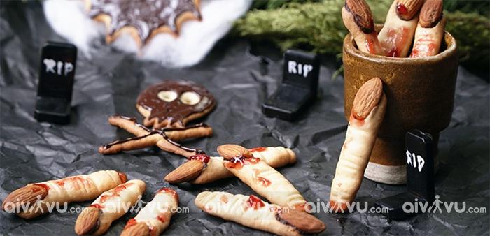 Bánh quy ngón tay phù thủy