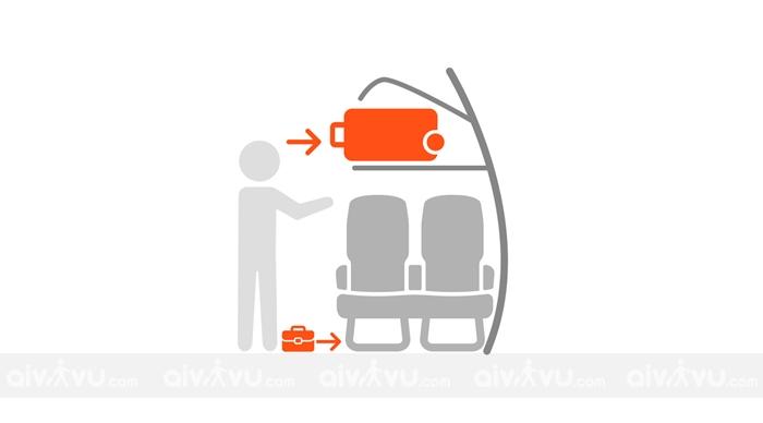 Quy định hành lý xách tay Nok Air chi tiết nhất
