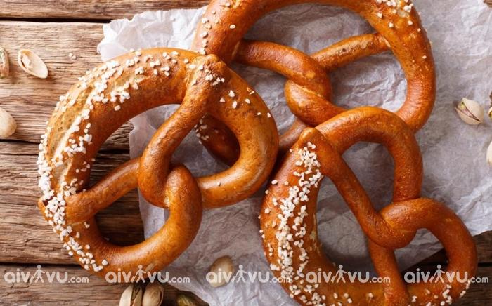 Bánh pretzels món ăn được yêu thích tại Mỹ