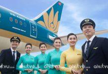 Lịch bay quốc tế về Việt Nam Vietnam Airlines
