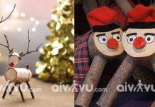 Bắt gỗ thải ra bánh kẹo tục lệ Giáng Sinh kỳ lạ nhất thế giới
