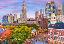 Boston, Massachusetts – nơi mùa thu ở Mỹ quyến rũ nhất