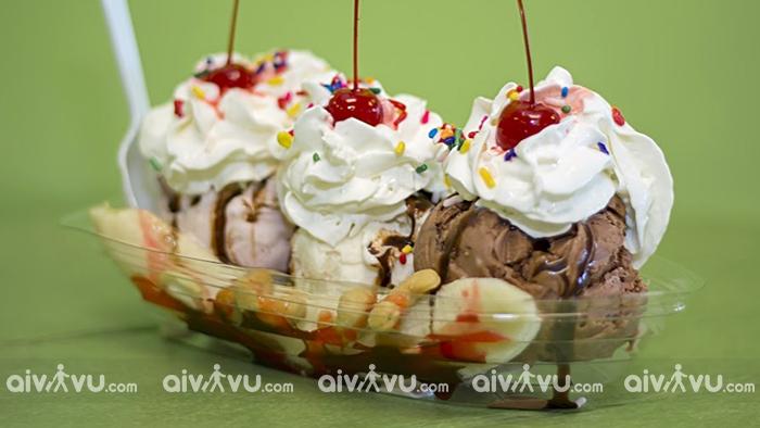 Brown Dog Ice Cream Cape Charles, Virginia nhà hàng kem ngon nhất tại Mỹ