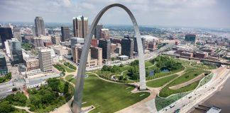 Cổng hình cung Arch công trình kiến trúc đẹp nhất nước Mỹ