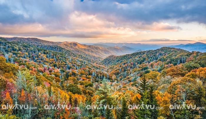 Dãy núi Great Smoky vườn quốc gia Mỹ được ghé thăm nhiều nhất