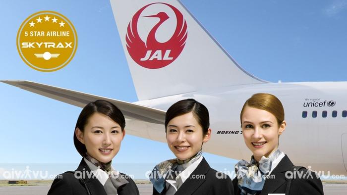 Japan Airlines hãng hàng không đi Nhật được nhiều hành khách lựa chọn