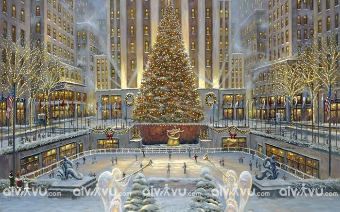 New York thành phố đón Giáng Sinh tuyệt vời nhất tại Mỹ