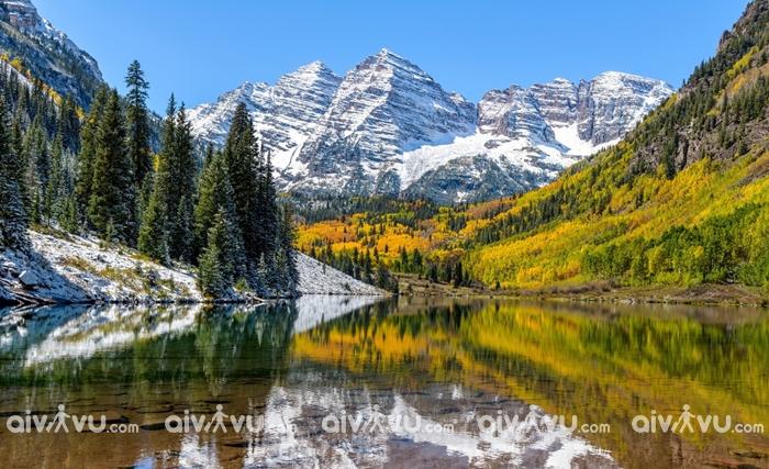 Núi Rocky vườn quốc gia hơn 100 tuổi