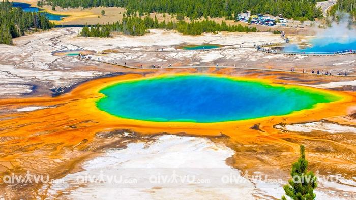 Vườn quốc gia Yellowstone Mỹ