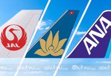 Review top những hãng hàng không đi Nhật Bản giá rẻ