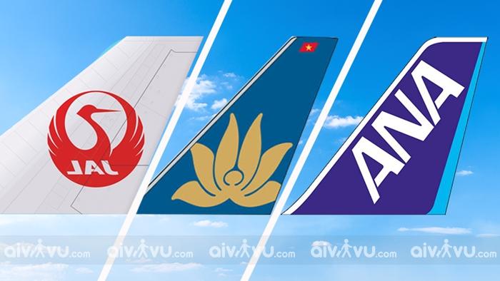 Các hãng hàng không khai thác chuyến bay đi Nhật Bản từ Việt Nam