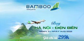 Bamboo Airways bay Hà Nội – Điện Biên khuyến mãi chỉ 299.000 VND