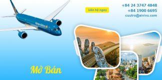 Lịch bay nội địa Vietnam Airlines từ ngày 10/10 – 17/10