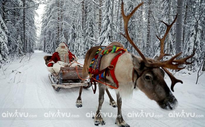 Ông Già Noel biểu tượng của Giáng Sinh